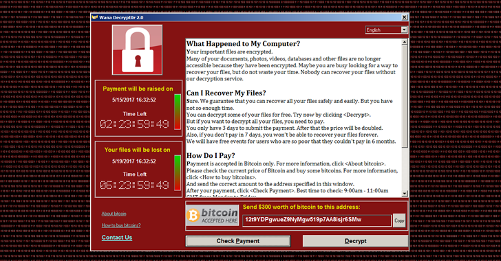 Security Alert - WannaCry
